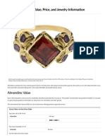 Almandine Garnet Value, Price, And Jewelry Information - International Gem Society