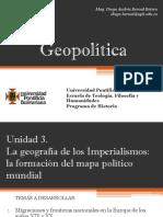 Unidad 3 La Geografía de los imperialismos