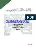 Shasha Garments Business Profile _2019