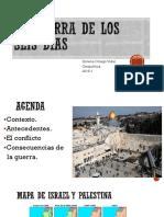 Unidad 4 La Guerra de los 6 Días - Ximena Orrego