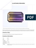 Ametrine Value, Price, And Jewelry Information - International Gem Society