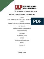 LA CONCLUSION DEL PROCESO NORMAL Y ANORMAL - FORMAS ESPECIALES.docx