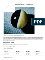 Chrysoberyl Value, Price, And Jewelry Information - International Gem Society