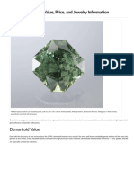Demantoid Garnet Value, Price, And Jewelry Information - Gem Society