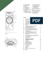 RISH Insu 20 Manual