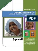 Gender Discrimination Among Older Women in India