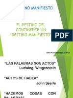 Unidad 5 Destino Manifiesto - Jaime Arturo Restrepo R