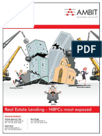 Ambit BFSI Thematic Real Estate NBFCs Most Exposed 15Feb2018