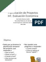 Planificación de Proyectos Inf. Evaluación Económica