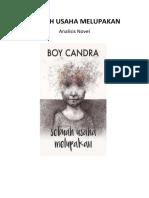 Analisis Novel