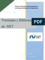 Versiones y Blibiotecas de .NET