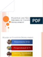 Piagetian and Neo-piagetian Theories of Cognitive Development