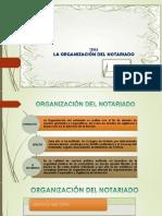 Notariado y Su Organizacion