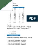 128648324 Ejercicio Proyeccion Demanda Unidades Excel Xlsx