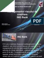 Managementul Riscului de Creditare la ING Bank.ppt