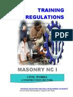 Masonry NC I (Superseded)