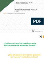 PPT_Nuevas Realidades Emergentes Para La Psicología Social_2_2