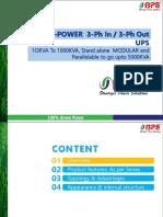 BPE 3-3 Phase Product PPT-2019