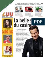 Le programme du Casino 2000