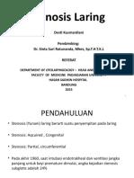 stenosis LR