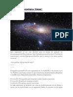 Argumento Cosmológico