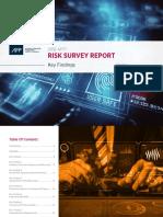 2018 Afp Risk Survey