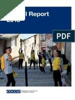 OSCE - Anual Report 2018