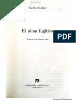 Harold Brodkey El Alma fugitiva-