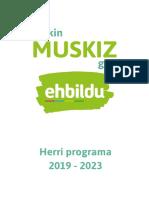 Herri Programa 2019-2023