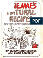 Eydie Maes Natural Recipes With Ocr Text [Orthomolecular medicine]