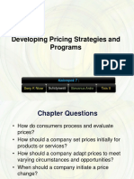 Kelompok 7 - Developing Pricing Strategies and Programs.ppt