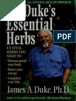 Dr Duke Essential Herbs James A Duke, PhD [Orthomolecular medicine]