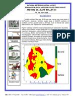 2013 Annual Climate Bulletin