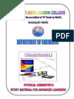 PhysicalChemistry IIa