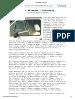 Peter Ablinger - Biography