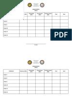 Filipino Adjudication Sheets for Activities