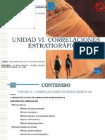 UNIDAD VI - Correlaciones Estratigráficas