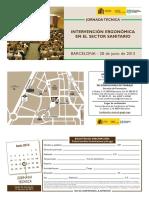 Jornada Tecnica Intervencion Ergonomica Sector Sanitario