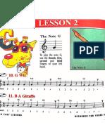 Recorder Lesson 2
