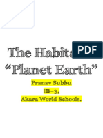 The Habitable Planet Earth