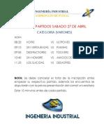 Acreditacion Ing. Industrial Madai