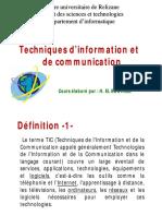 Cours Les TIC