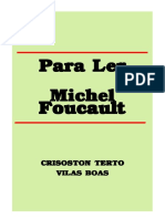 BOAS, Villas. Para Ler Foucault