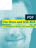 Fox News and Seth Rich
