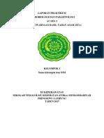 Format Laporan Bakteri BTA