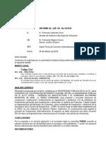 Informe 2-18 Convenio Upea-gam Charazani