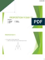 Proposition 9 Dan 10