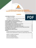 Manual de Est+ígio III em Geografia Ensino Fundamental 2019