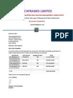 Proposal Techframes 1