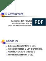 Kommas 4 - E-Government